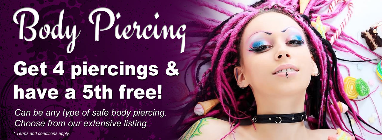 Body Piercing Loyalty Offer