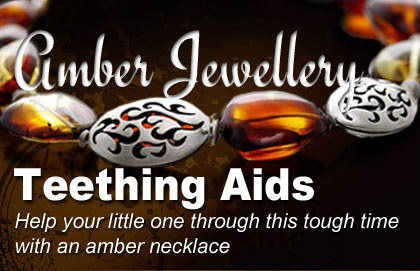 Amber Jewellery - Teething