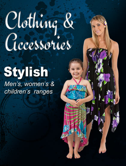 Men's Women's & Children's Clothing & Accessories