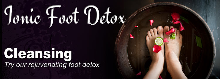 Ionic Foot Detox Therapy
